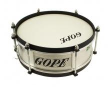 Gope Percussion Ca1010al-hbk - Mini Caixa Alu Tarol 10 Cercle Noir - 10cm Profondeur