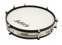Gope Percussion Ca1206al-hbk - Caixa Alu Clangor 12 Cercle Noir - 6cm Profondeur