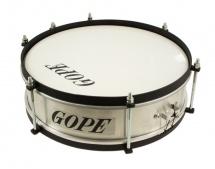 Gope Percussion Ca1210al-hbk - Caixa Alu Tarol 12 Cercle Noir - 10cm Profondeur