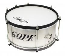 Gope Percussion Ca1215al-hbk - Caixa Alu Guerra 12 Cercle Noir - 15cm Profondeur
