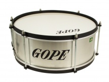 Gope Percussion Ca1415al-hbk - Caixa Alu Guerra 14 Cercle Noir - 15cm Profondeur