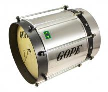 Gope Cu0825al-hbk - Cuica Alu 8 Cercle Noir - 25cm Profondeur