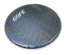 Gope Percussion Hhol10-bk - Peau Double Holographique 10 Noir