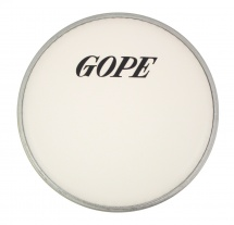 Gope Percussion Hwc250-08 - Peau Sablée 8 Super Nylon 0.250mm - Blanche