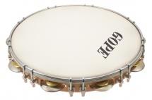 Gope Percussion Pa12d9hc - Pandeiro 12 Tirants Doubles Peau Sablée