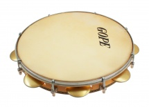 Gope Percussion Pac118jc - Pandeiro 11 Chorinho Cymbalettes Concaves Peau Animale