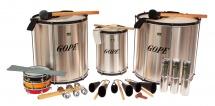 Gope Percussion Pk-40hbk14 - Pack Samba Surdo 40cm Hbk - 14 Instruments