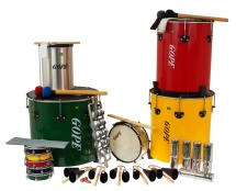 Gope Percussion Pk-mao22 - Pack Samba Surdo De Mao - 22 Instruments