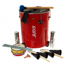 Gope Percussion Pk-mao8 - Pack Samba Surdo De Mao - 8 Instruments