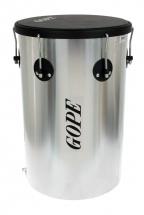 Gope Percussion Rb1250nal-6hbk - Rebolo Alu 12 Napa 6 Tir. Cercle Noir - 50cm Profondeur