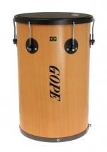 Gope Percussion Rb1250nwo-6hbk - Rebolo Bois 12 Napa 6 Tir. Cercle Noir - 50cm Profondeur