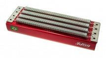 Gope Percussion Recal4s-r - Reco Reco Alu 4 Ressorts - Rouge