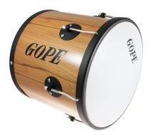 Gope Percussion Rm1230wo-hbk - Repique De Mao Bois 12 Cercle Noir - 30cm Profondeur