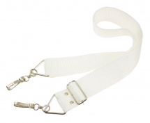 Gope Strny2-wh - Sangle Ceinture 2 Crochets - Blanc