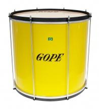 Gope Percussion Su1845ye-al - Surdo Jaune 18 Alu - 45cm Profondeur