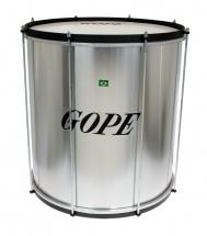 Gope Percussion Su1850al-hbk - Surdo Alu 18 Cercle Noir - 50cm Profondeur