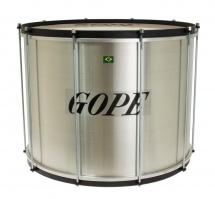 Gope Percussion Su2040al-hbk - Surdo Alu 20 Cercle Noir - 40cm Profondeur