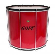 Gope Percussion Su2045re-al - Surdo Rouge 20 Alu - 45cm Profondeur