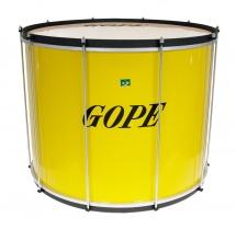 Gope Percussion Su2245ye-al - Surdo Jaune 22 Alu - 45cm Profondeur