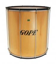 Gope Percussion Su2260wo-hbk - Surdo Bois 22 Cercle Noir - 60cm Profondeur