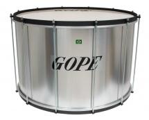 Gope Percussion Su2440al-hbk - Surdo Alu 24 Cercle Noir - 40cm Profondeur