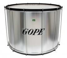 Gope Percussion Su2445al-hbk - Surdo Alu 24 Cercle Noir - 45cm Profondeur