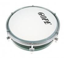 Gope Percussion Tam6al6-g - Tamborim 6 Alu Vert 6 Tirants
