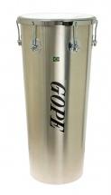 Gope Percussion Tm1270al-6cr - Timbal Alu 12 6 Tirants Cercle Chrome - 70cm Profondeur