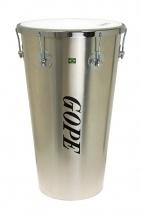 Gope Percussion Tm1463al-6cr - Timbal Alu 14 6 Tirants Cercle Chrome - 63cm Profondeur