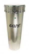 Gope Percussion Tm1490al-16cr - Timbal Alu 14 16 Tirants Cercle Chrome - 90cm Profondeur