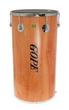 Gope Percussion Tn1470nwo-6cr - Tan Tan Bois 14 Napa 6 Tir. Chrome - 70cm Profondeur