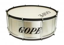 Gope Percussion Za2020al-hbk - Zabumba Alu 20 Cercle Noir - 20cm Profondeur