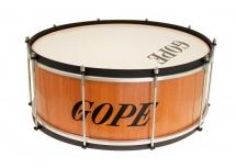 Gope Percussion Za2020wo-hbk - Zabumba Bois 20 Cercle Noir - 20cm Profondeur