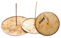 Gope Gp-pc9 - Peau Naturelle Pour Cuica 9 Avec Tige Bambou
