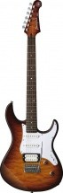 Yamaha Pacifica Gpa212vqmctbs Tobacco Brown Sunburst