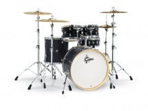 Gretsch Drums Catalina Birch 5 Futs 22/10/12/16/14 Ebony Satin - Cs1-e625-es