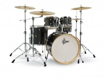Gretsch Drums Catalina Maple 5 Futs 22/10/12/16/14 Black Stardust - Cm1-e825-bs