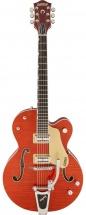 Gretsch G6120ssu Brian Setzer Nashville Tv Jones Setzer Signature Pickups Orange Tiger Flame + Etui