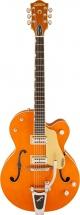 Gretsch G6120sslvo Brian Setzer Nashville Tv Jones Setzer Signature Pickups Vintage Orange Lacquer + Etui