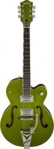 Gretsch G6120sh Setzer Hot Rod Tv Jones Setzer Signature Pickups Green Sparkle + Etui