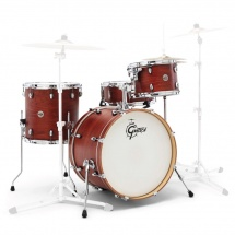 Gretsch Drums Ct1-j404-swg - Catalina Club 2014 Fusion 20 - 12 - 14ft - 20gc - 14x5.5 Satin Walnut Glaze