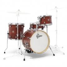 Gretsch Drums Ct1-j484-swg - Catalina Club 2014 Jazz 18 - Satin Walnut Glaze