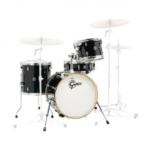 Gretsch Drums Ct1-j484-pb - Catalina Club Jazz 18 - Piano Black