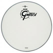 Gretsch Drums Ambassador White Coated 24 Logo Gretsch Drums Resonance