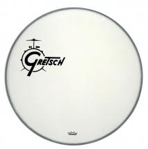 Gretsch Drums Ambassador White Coated 20 Logo Gretsch Drums Resonance