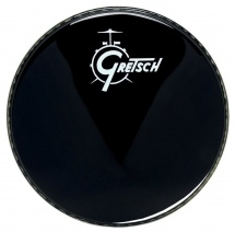 Gretsch Drums Ambassador Ebony 22 Logo Gretsch Drums Resonance