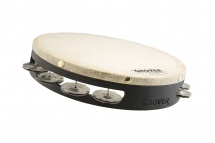 Grover Pro Percussion T1/ss  - Tambour De Basque Spanish Silver 10