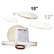 Grover Hk-10 - Kit De Remplacement De Peau Tambour De Basque / Tambourin 10