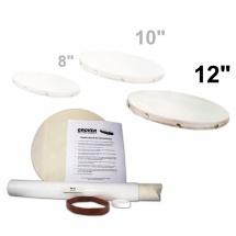Grover Hk-12 - Kit De Remplacement De Peau Pour Tambour De Basque Et Tambourin 12