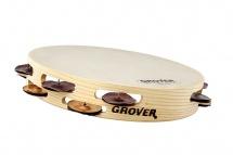Grover T2/htsph-b - Tambour De Basque 10 Custom Dry Silver / Bronze Combo Bantamweight